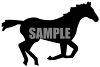 Baby Horse Silhouette clipart