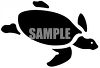 Sea Turtle Silhouette clipart