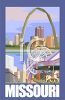 Tourist Attractions of Missouri Poster clipart