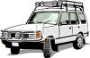 Sport Utility Vehicle clipart
