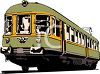 Trolley Car clipart