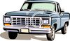 Old Pick-Up clipart