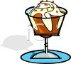 Hot Fudge Sundae clipart