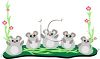 Cute Cartoon Mice clipart