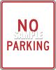 American Road Signs-No Parking clipart