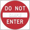 Road Sign-Do Not Enter Sign clipart