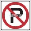 Road Sign-No Parking Symbol Sign clipart