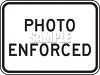 Road Signs-Photo Enforced clipart