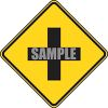 Road Sign-Intersection Symbol clipart