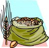 Sack of Wheat clipart