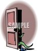 Monster in a Closet clipart