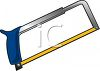 Hacksaw clipart