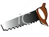 Wood Saw clipart