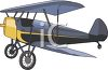 Crop Duster Airplane clipart