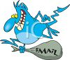 Email Virus clipart