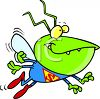 Super Bug Virus clipart