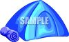 Nylon Dome Tent clipart