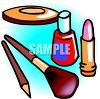 Cosmetics and Nail Polish clipart