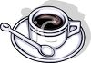 Classic Cup of Coffee clipart