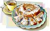 Tea and Cake clipart