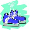 Hockey Skates clipart