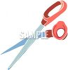 Household Scissors clipart
