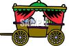 Curtained Coach clipart