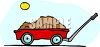 Wagon Full of Dirt clipart