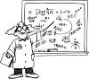 Math Professor clipart