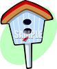 Wooden Birdhouse clipart
