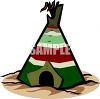 Indian Teepee clipart