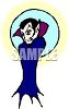 Cartoon Vampire clipart