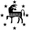 Political Party Symbol - The Democratic Donkey clipart
