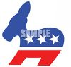 Political Party Symbol - The Democrat Mule clipart