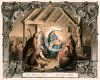 Old Fashioned Nativity Scene clipart