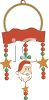 Santa Claus Christmas Decoration clipart