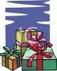 Bunch Of Christmas Gifts clipart