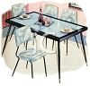 table and chairs image
