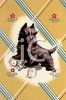 Vintage Scottish Terrier clipart