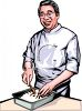 Asian Chef clipart