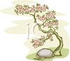 Cherry Tree Sapling clipart