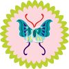 Butterfly Seal clipart