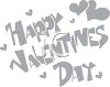 Happy Valentine's Day Sign clipart