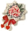 Rose with a Bow clipart