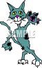 Mangy Alley Cat clipart