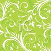 Flourishes and Swirls Floral Background clipart