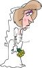 Woman Left at the Alter clipart