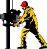 Oil Well Worker clipart