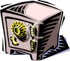 Heavy Duty Safe  clipart