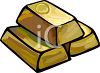 Gold Bouillon Bars clipart